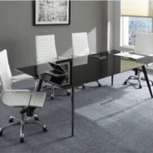 refurbished office table